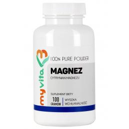 Magnez (cytrynian magnezu),...