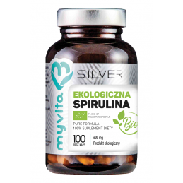 SPIRULINA BIO 600 mg SILVER...